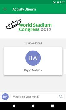 World Stadium Congress 2017 poster