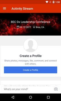 BEC Dx Leader Conference poster