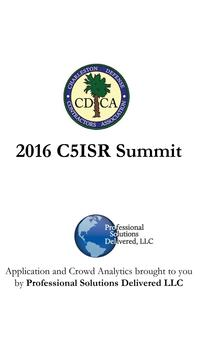 C5ISR 10th Annual Summit poster