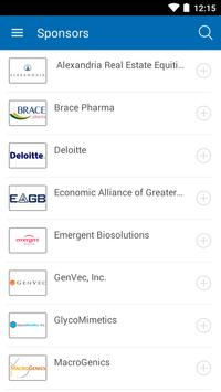 MD Regional BioTech Forum apk screenshot