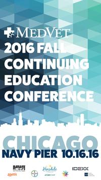 2016 MedVet Fall CE Conference poster