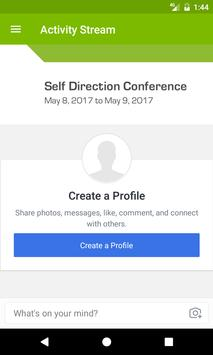 Self Direction Conference apk screenshot