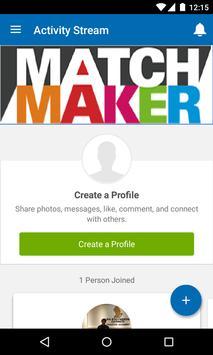 FCA MatchMaker poster
