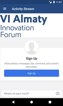 VI Innovation Forum Almaty apk screenshot