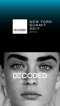 Decoded Fashion New York 2017 poster