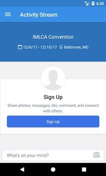 IMLCA Convention apk screenshot