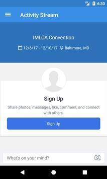 IMLCA Convention screenshot 1