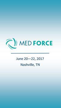 MedForce 2017 poster