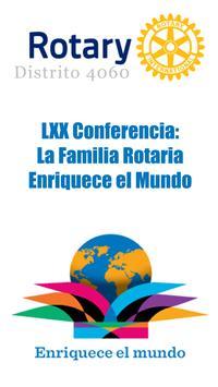 LXX Conferencia Rotaria 4060 poster