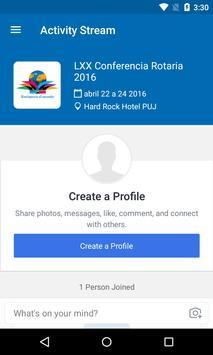 LXX Conferencia Rotaria 4060 apk screenshot