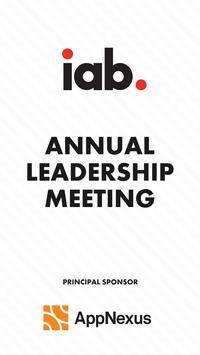 IAB Annual Meeting 2017 poster