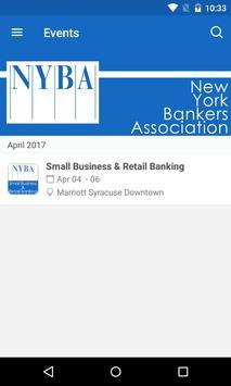 New York Bankers Association screenshot 1