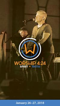 Worship 4:24 Conference 2018 poster