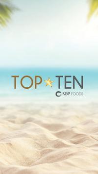 KBP Foods Top Ten poster