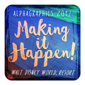 AlphaGraphics 2017 Conference icon