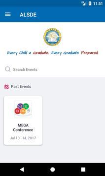 Alabama Dept of Ed Conferences screenshot 1
