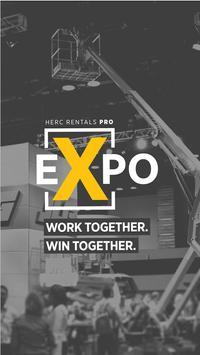 Herc Rentals ProExpo poster