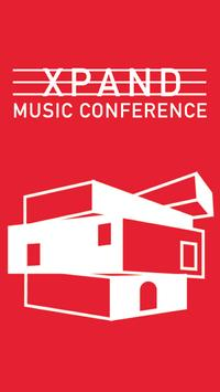 XPAND Music Conference poster