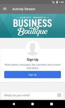 Business Boutique apk screenshot