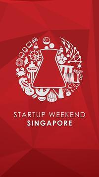 Startup Weekend Singapore poster