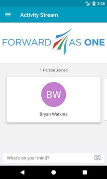 Forward as One Conference apk screenshot