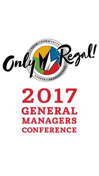 2017 Regal GM Conference poster