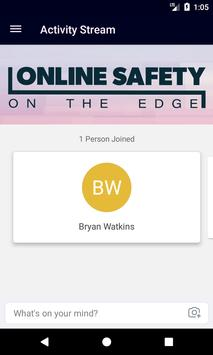 Online Safety on the Edge poster
