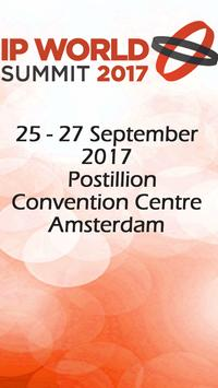 IP World Summit 2017 poster