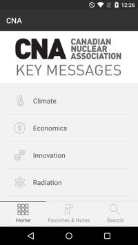 CNA Key Messages apk screenshot