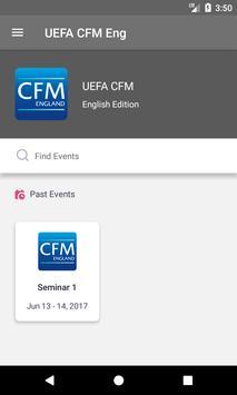 UEFA CFM English Edition poster