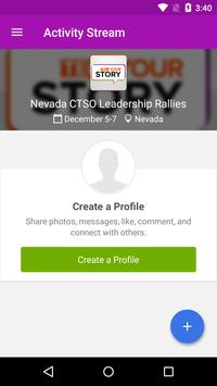 Nevada CTSO Leadership Rallies poster