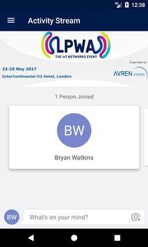 LPWA World 2017 Event App apk screenshot