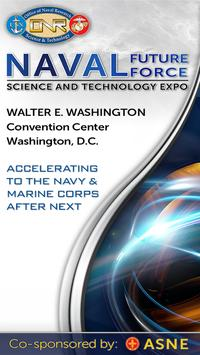 Naval Future Force S&T Expo poster