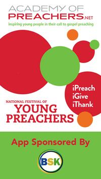 Academy of Preachers poster