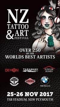 NZ Tattoo & Art Festival 2017 poster