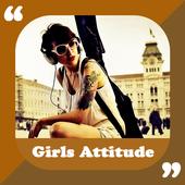 Girls Attitude status in hindi icon