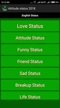 Attitude Status 2019 apk screenshot