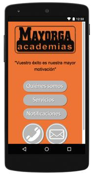 Academias Mayorga poster