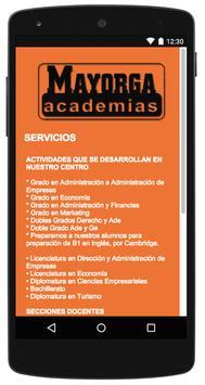 Academias Mayorga apk screenshot