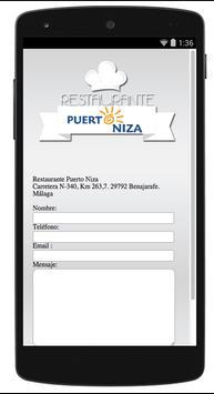 Restaurante Puerto Niza apk screenshot