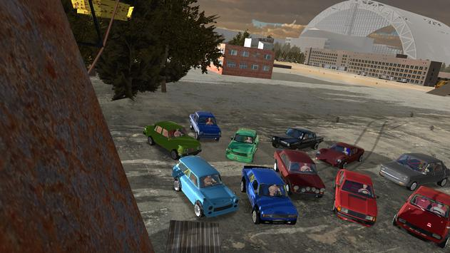 Iron Curtain Racing - car racing game imagem de tela 4