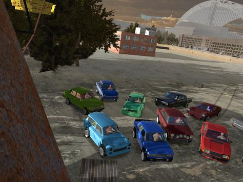Iron Curtain Racing - car racing game imagem de tela 9