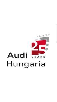 25 Years Audi Hungaria poster