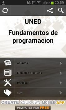Fundamentos de programacion poster
