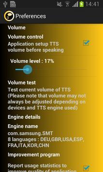 Assistant TTS apk screenshot