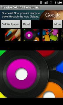 Creative Colorful Background apk screenshot