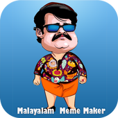 Malayalam Meme Maker icône