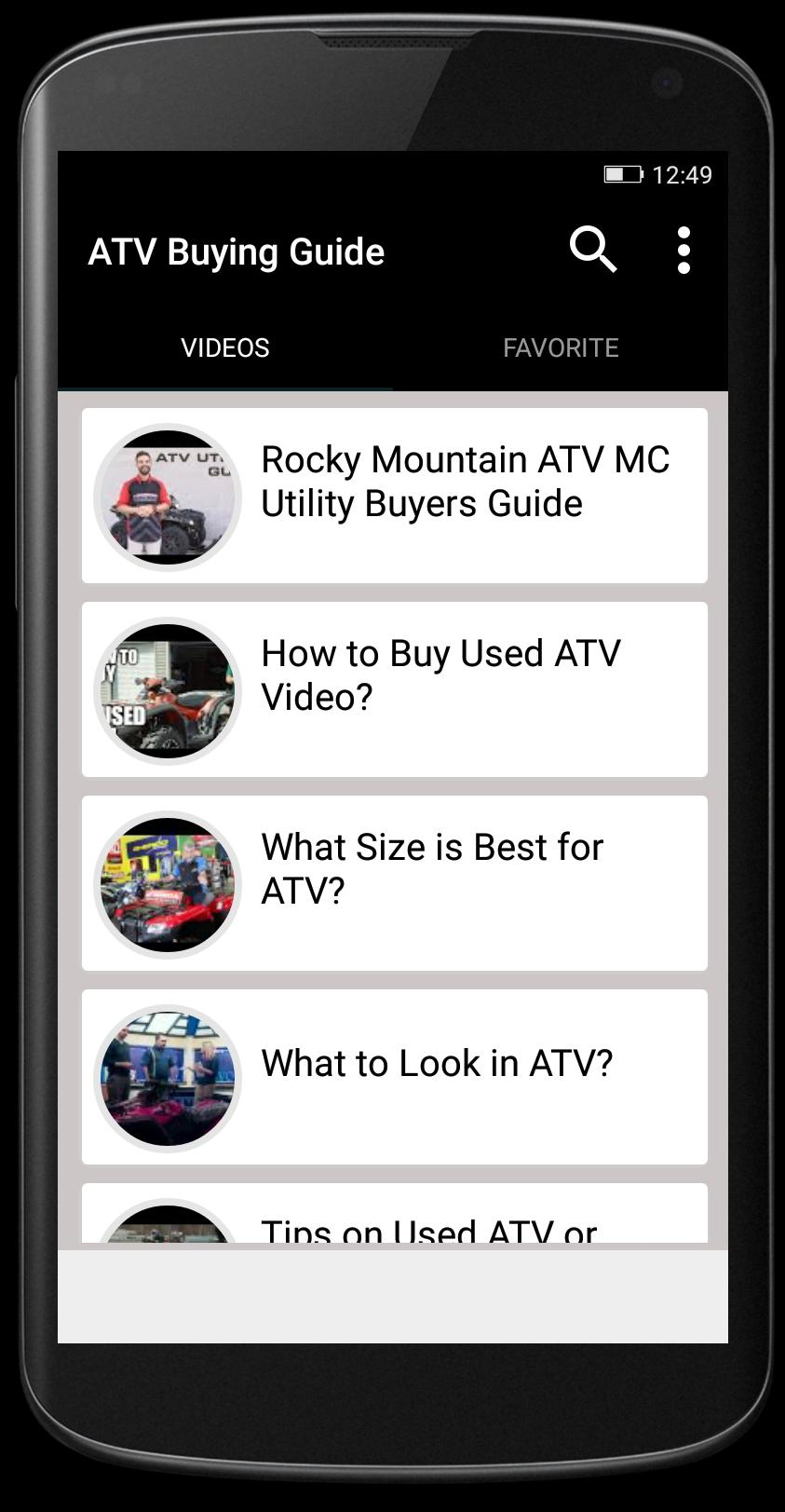 ATV Buying Guide poster