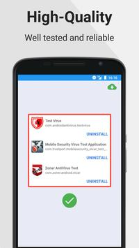 Antivirus Android screenshot 1