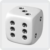 Dado 3D icon